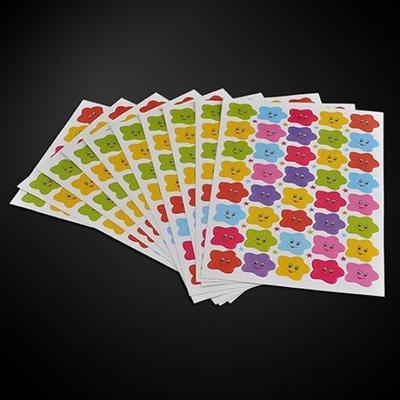 Cute Smile Stars Decal 400pcs School Children Kids Teacher Label Reward Sticker