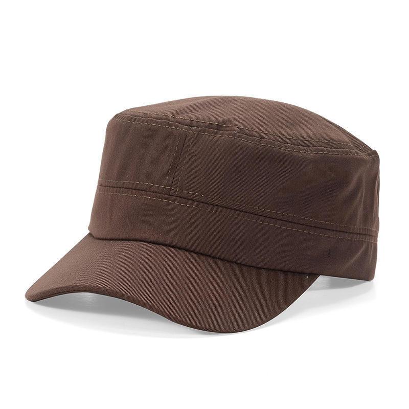 Military Hat Cap Cadet Men Women Casual BASEBALL Size Adjustable Strap Sport