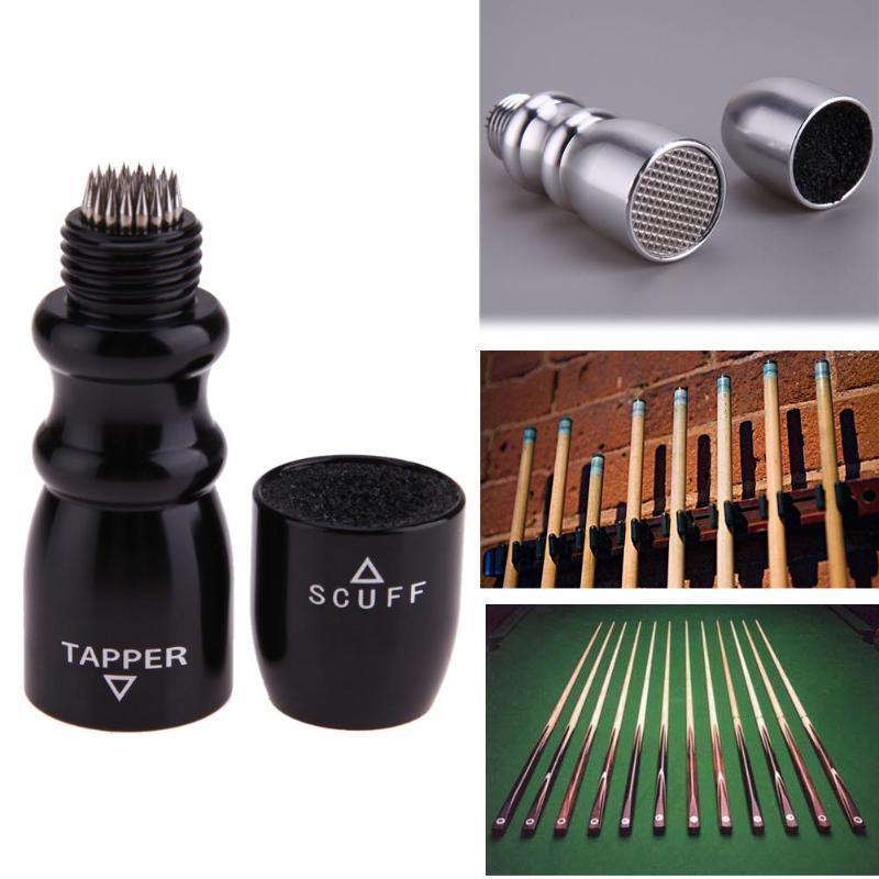 Billar Pool Cue Tip Shaper Tool Aleaci/ón de Aluminio en Forma de U Multifunci/ón Billar Pool para Cue Snooker Tips