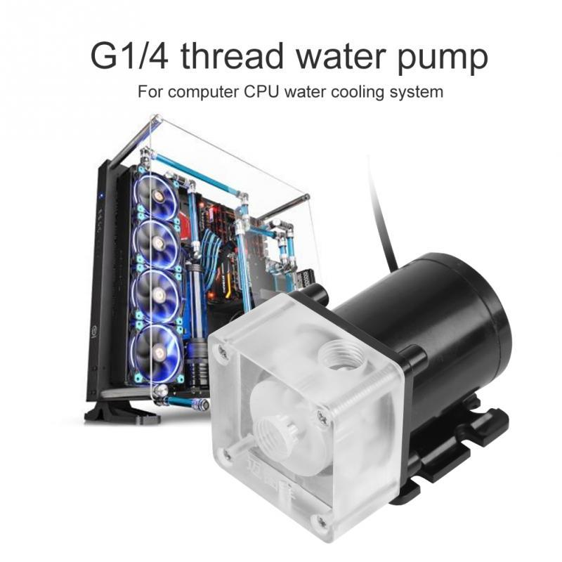 12V Water Cooling Pump,Mini Super Silent Water Circulation Pump,for PC Water Cooling System