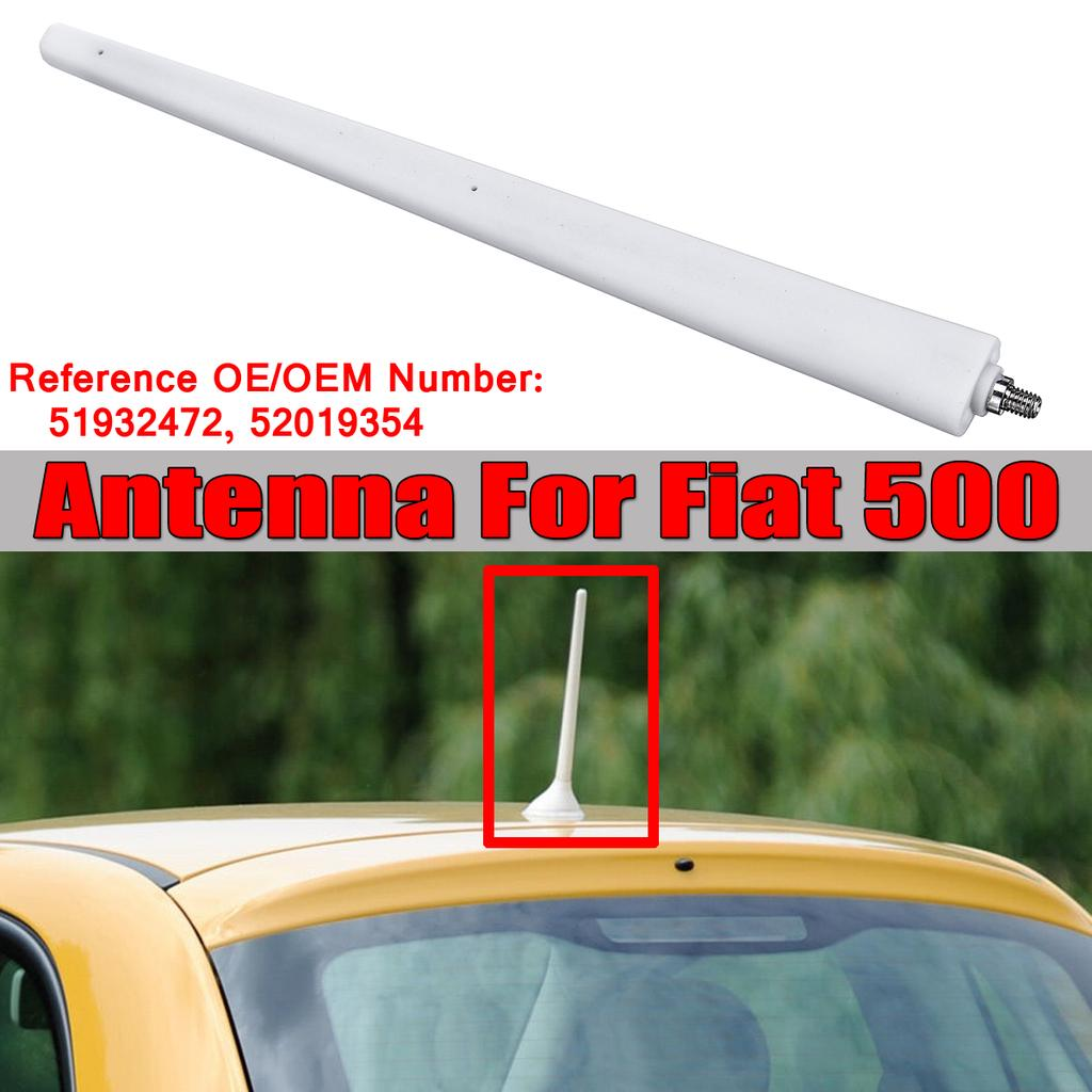 For TOYOTA AM//FM Rubber Mast Roof//Wing Mount Car Radio Aerial Antenna CHROME