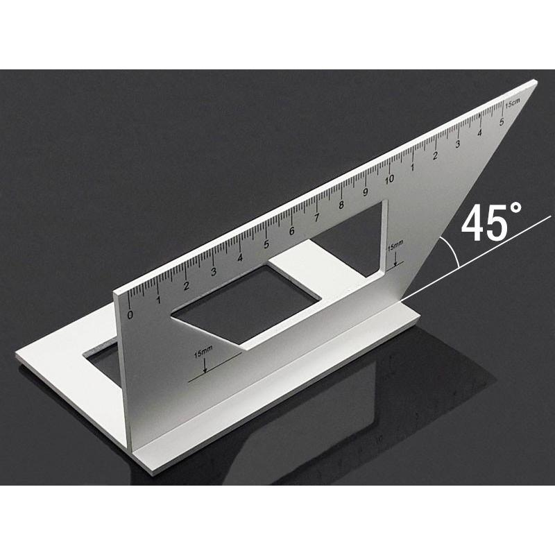 Details about  /45//90 Degree Scriber Gauge Angle Ruler Carpenter Measuring Woodworking Tool