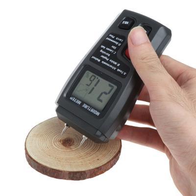 Holzfeuchte Messgerat Analyzer Feuchtigkeit Tester Holz Feuchten