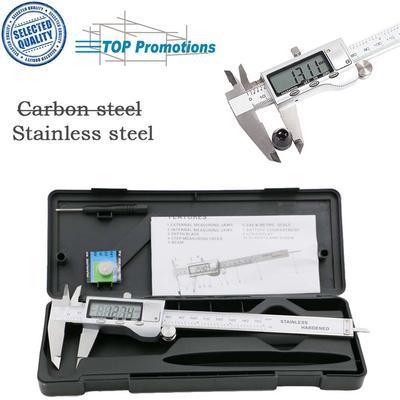 LONGJUAN-C 160mm Stainless Steel Measure Guage Marking Vernier Caliper Scraper Tool Range Measuring Tool