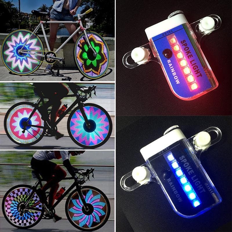 FREE SHIPPING Mini Flashing Skull Ring Bike Light Safety