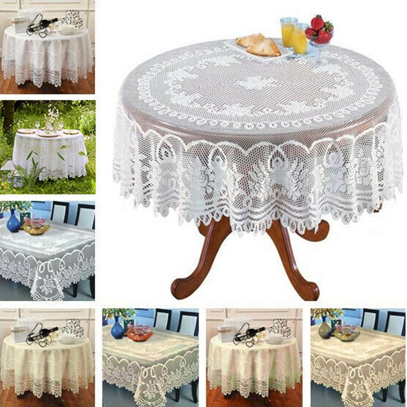 Multiple Specifications Optional Lattice Waterproof PVC Table Cloth