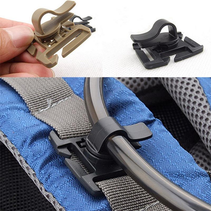 Bag Accessories Backpack Carabiner Organize Clip Molle Buckle Fixed Hooks