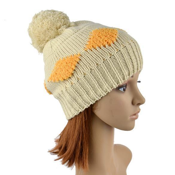 Msion mujeres rejilla patrón gorro ganchillo tejer sombrero del ...