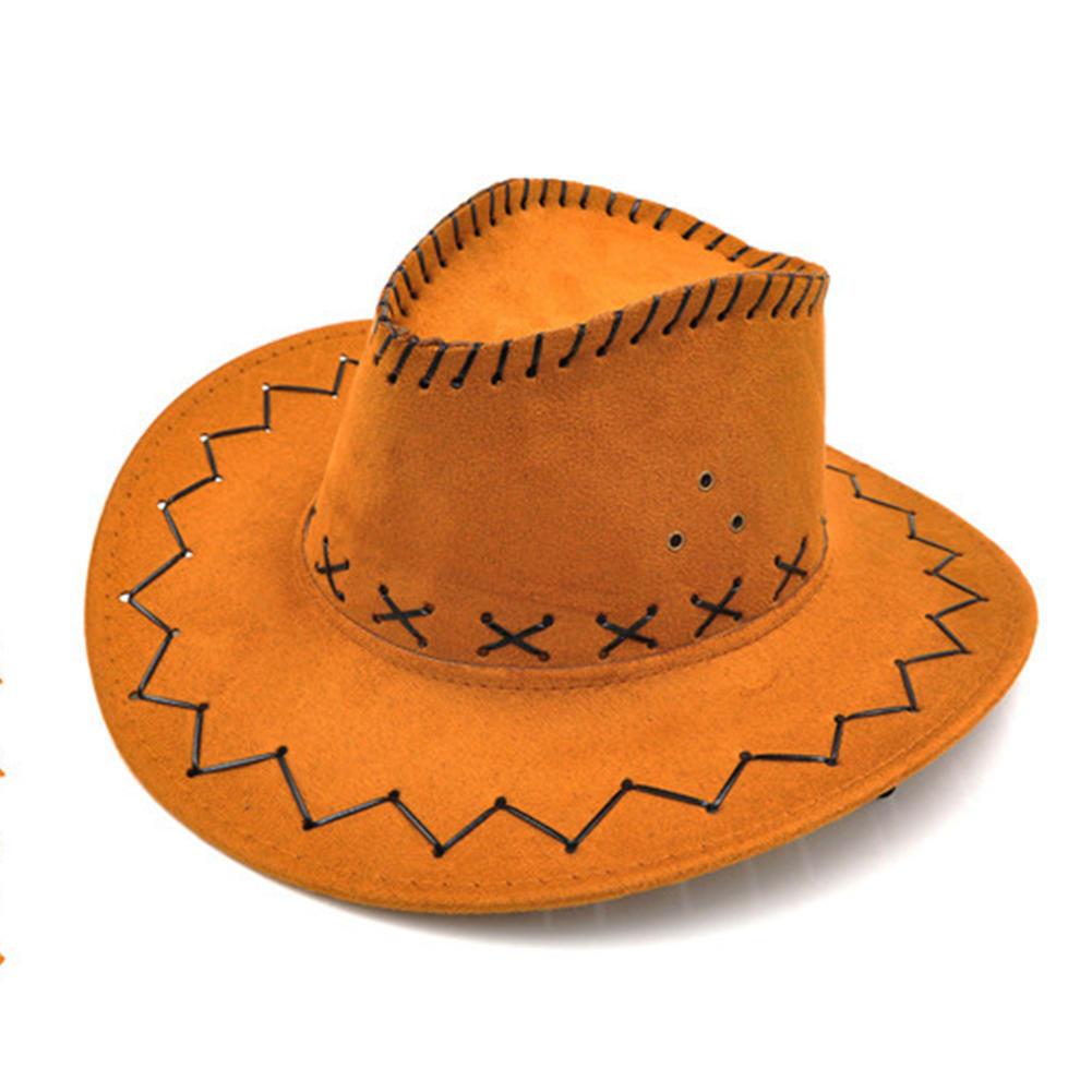 Trajes de Halloween estilo vaquera Western sombrero de vaquero para ... 2e842abbe6b