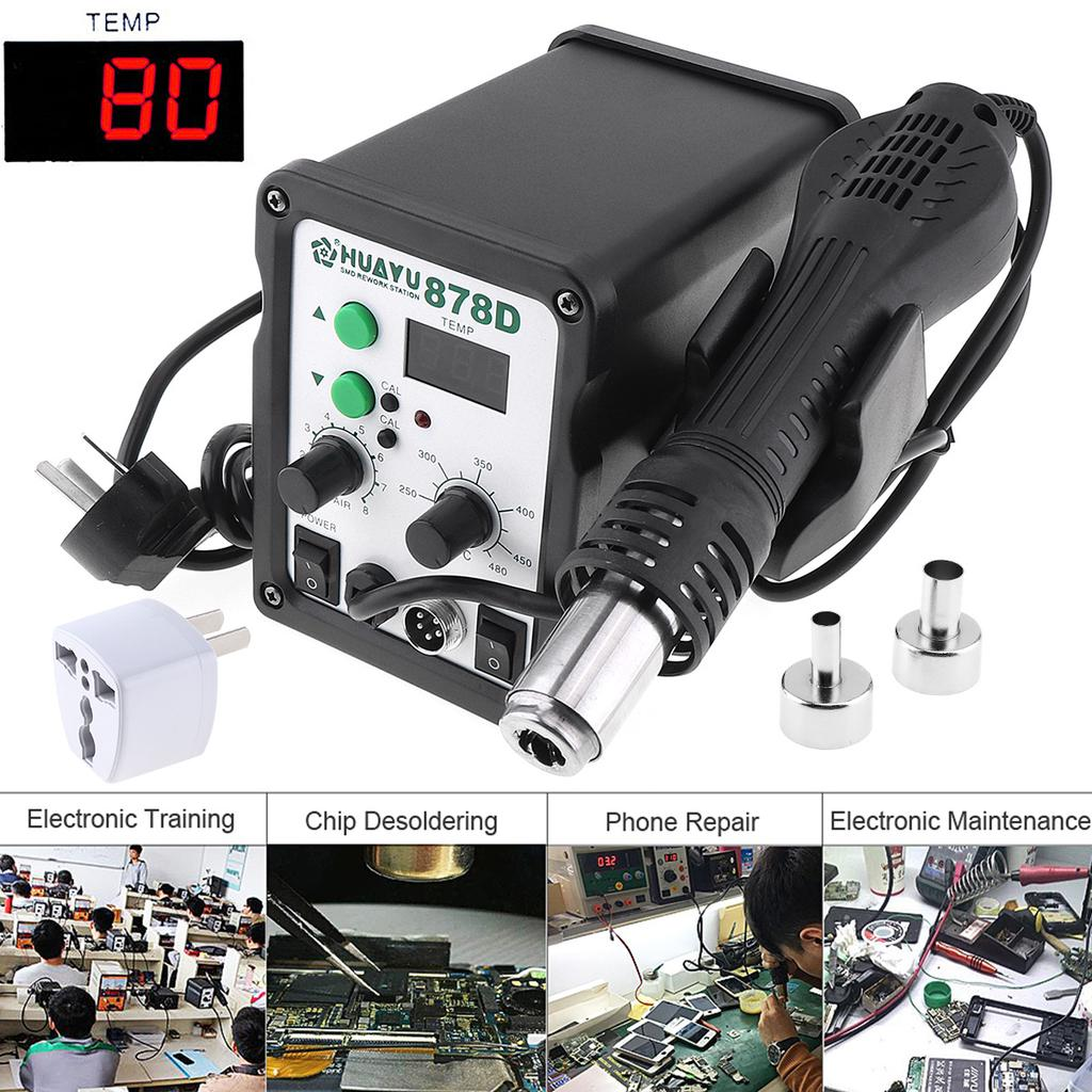 H878d Multifunction 110v Lcd Digital Display Hot Air Electric 250 Arc Welder 110v220v Dual Welding Soldering Machine Tools On Wiring 1 Of 11
