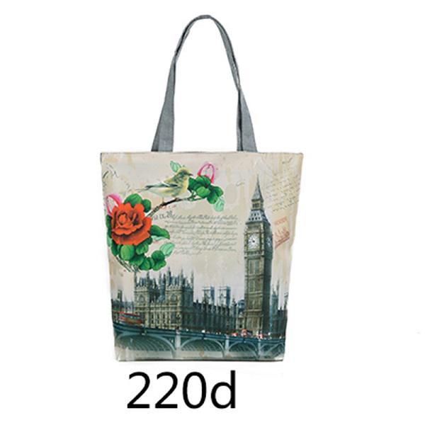4eea974c82595 Toptan kule tuval omuz çantası Avrupa tarzı erkek çanta Tote kadın ...