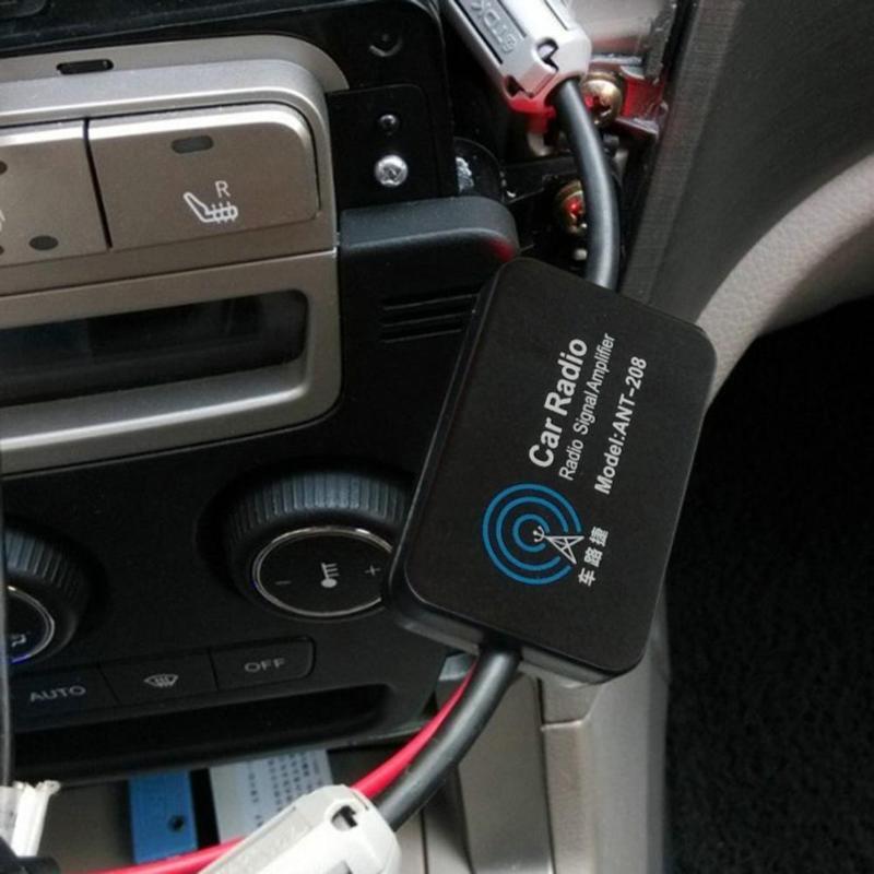 Universell Dach Befestigung Aktiv Verstärkt DAB Fm Radio Auto Antennemast