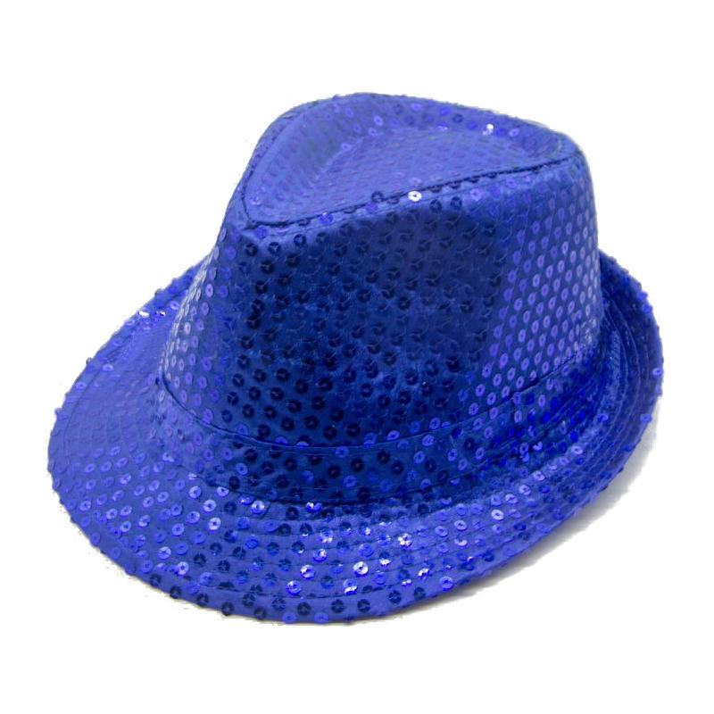 SEQUIN TRILBY HAT TOP HAT FANCY DRESS PARTY HEN STAG NIGHT DANCE THEATRE SHOWS