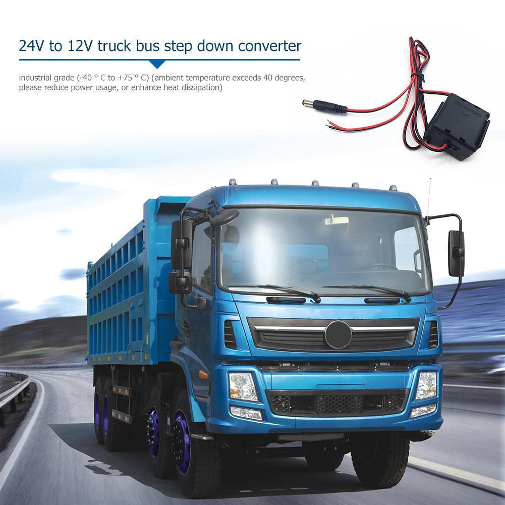 24V To 12V 6Amp DC-DC Power Supply Converter Truck Caravan