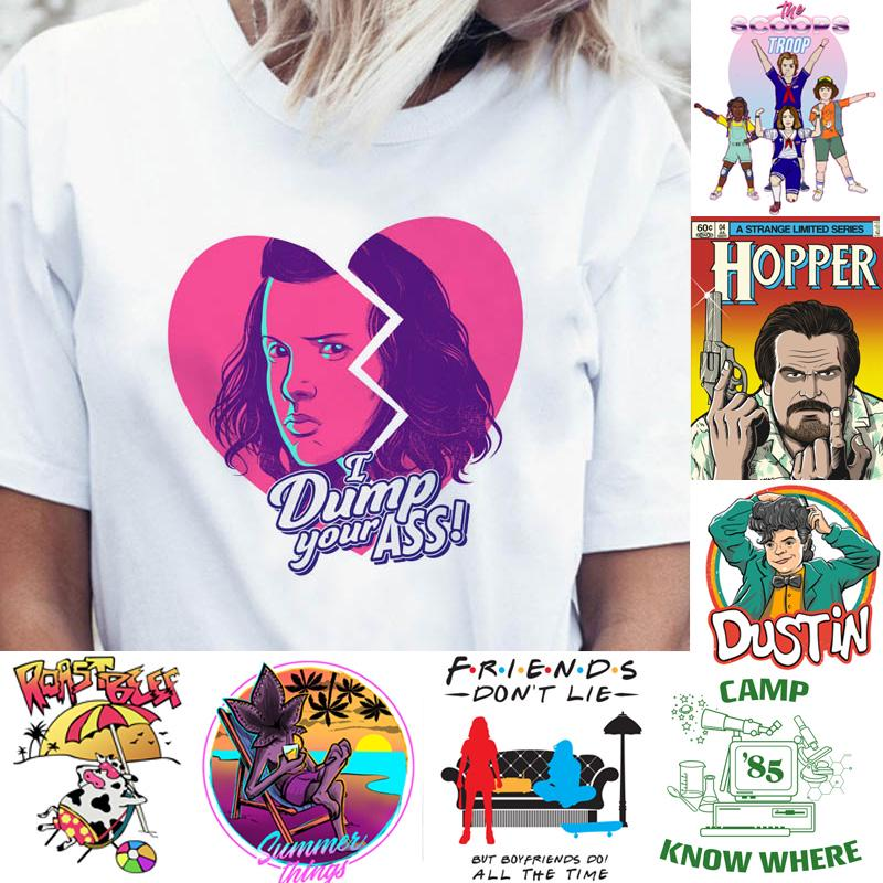 Stranger Things Season 3 T Shirt Women Funny Top Tee Eleven Dustin Shirts T Shirt 80s Buy At A Low Prices On Joom E Commerce Platform