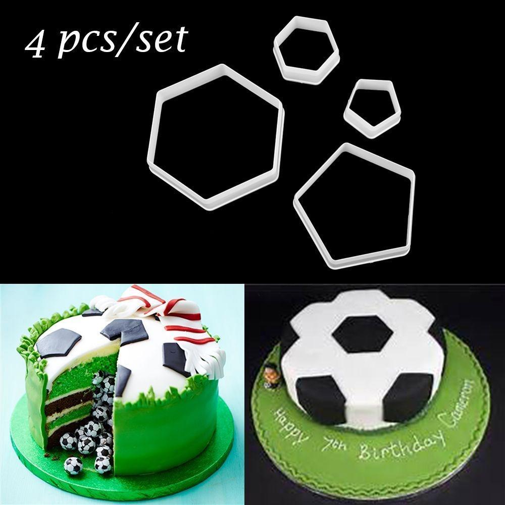 4Pcs//Set Silicone Fondant Cake Mould Chocolate Sheet Mold Cake Decoration