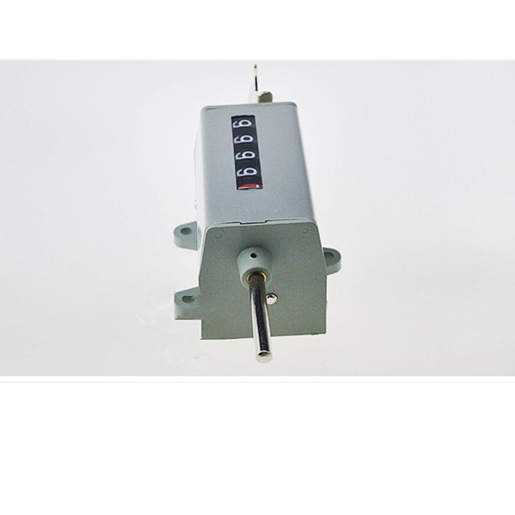 Clockwise Increase 5-Digit Resettable Rotary Counter