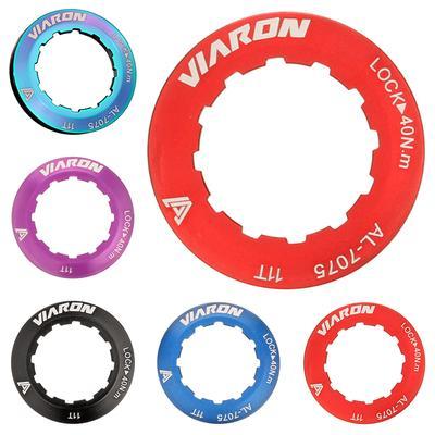 Aluminum Multicolor Mountain Road Bike Cassette Cover Lock Ring Accessories KV