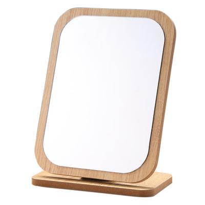 деревянные подвесные мило 360 градусов зеркало косметический макияж складной регулируемый угол