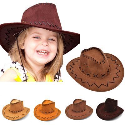 Halloween estilo vaquera Western sombrero de vaquero para niños chicos Gilrs f39ad58cf7c