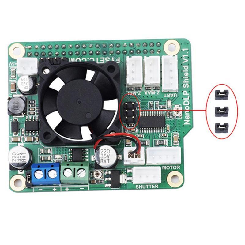 3D printer parts nano DLP shield v1 1 expansion board for raspberry pi 3b