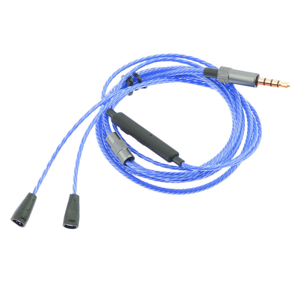 1.2M Upgrade Headphones Cable Cord Wire Lind Lead Replacement for IE80 IE8 IE8i