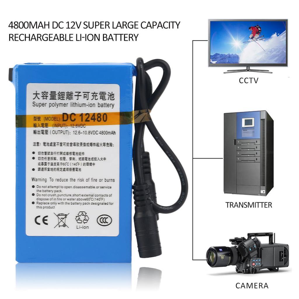 14.4V 2000 mAh Portable Li-ion Rechargeable Battery Pack 18650 diy rc drone 12v
