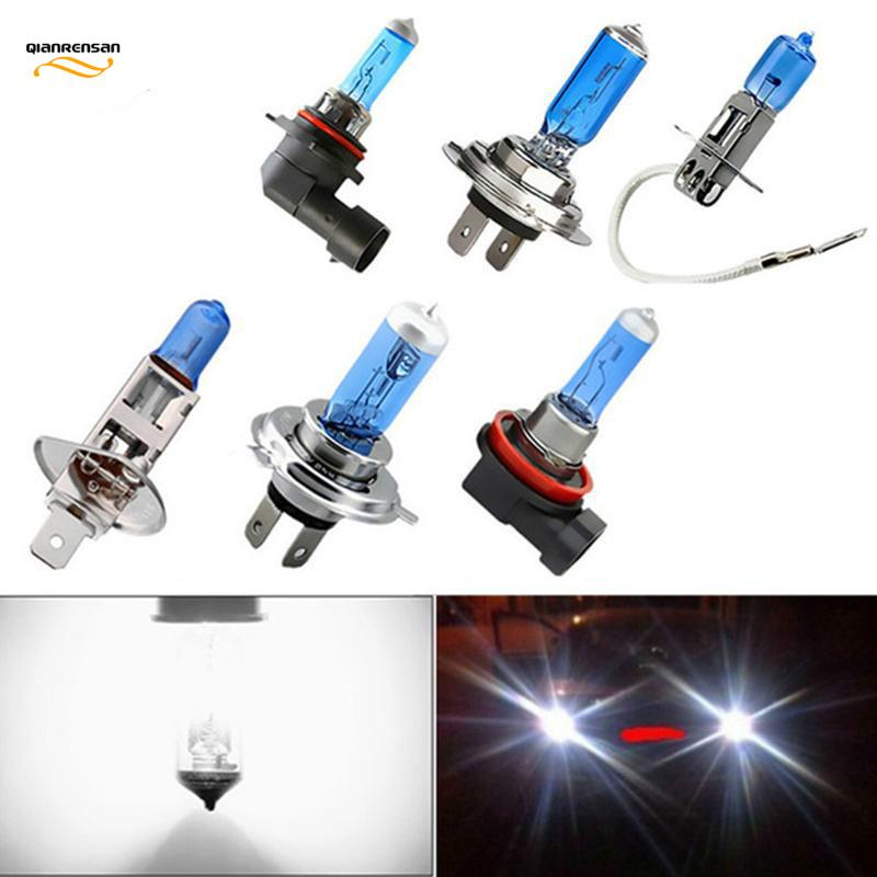 H1 H3 H4 H7 H8 H9 H11 HB3 9005 HB4 9006 100W 12V Halogen Bulbs Car Lamp 6000K Styling