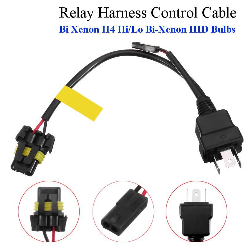 2pcs Universal 9006//9005 HB4 Male Fog//Driving Light Socket Harness Wiring HID D2