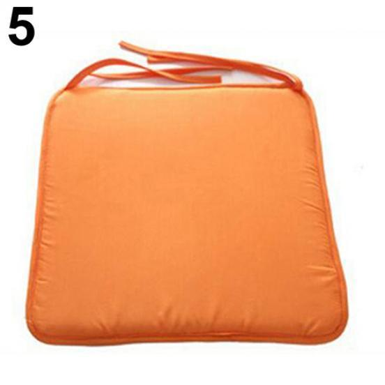 Chair Cushion Seat Pads OUTDOOR Tie On Garden Patio REMOVABLE COVER Pillow