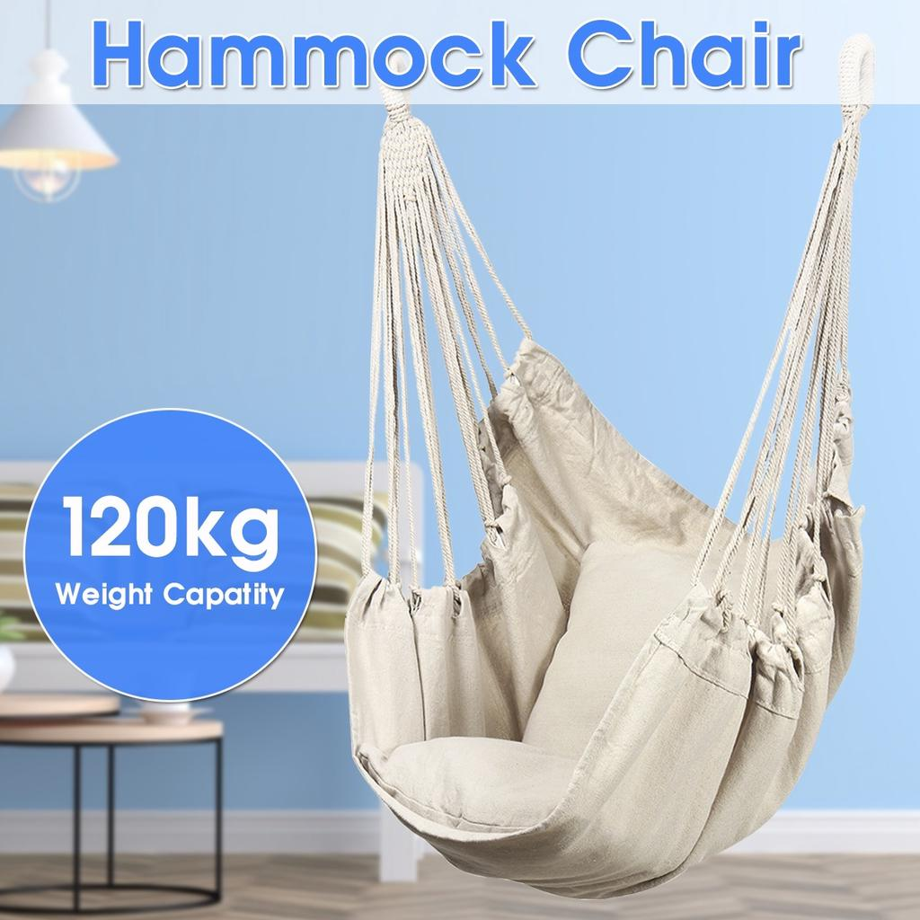 3 Types New Hammock Hanging Rope Chair Swing Chair Seat For Garden Outdoor Use Not Included Sticks Buy At A Low Prices On Joom E Commerce Platform