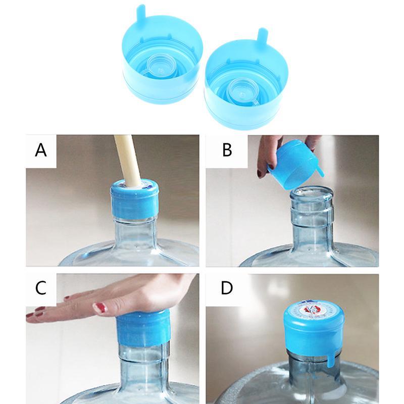 5 Reusable Screw Seal Cap Non-Spill Lid 3-5 Gallon Jug for Barrel Water Bottle