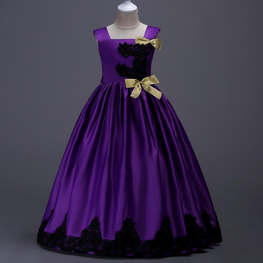 Alta cintura Formal fiesta boda evento fiesta princesa vestido de ...