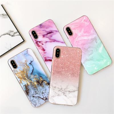Fashion Marble Pattern Soft TPU Phone Case Silicone Back Cover for iPhone 12 Pro Max Samsung Galaxy A21s A51 A71 Huawei Xiaomi Mi 10 Pro Redmi Note 9