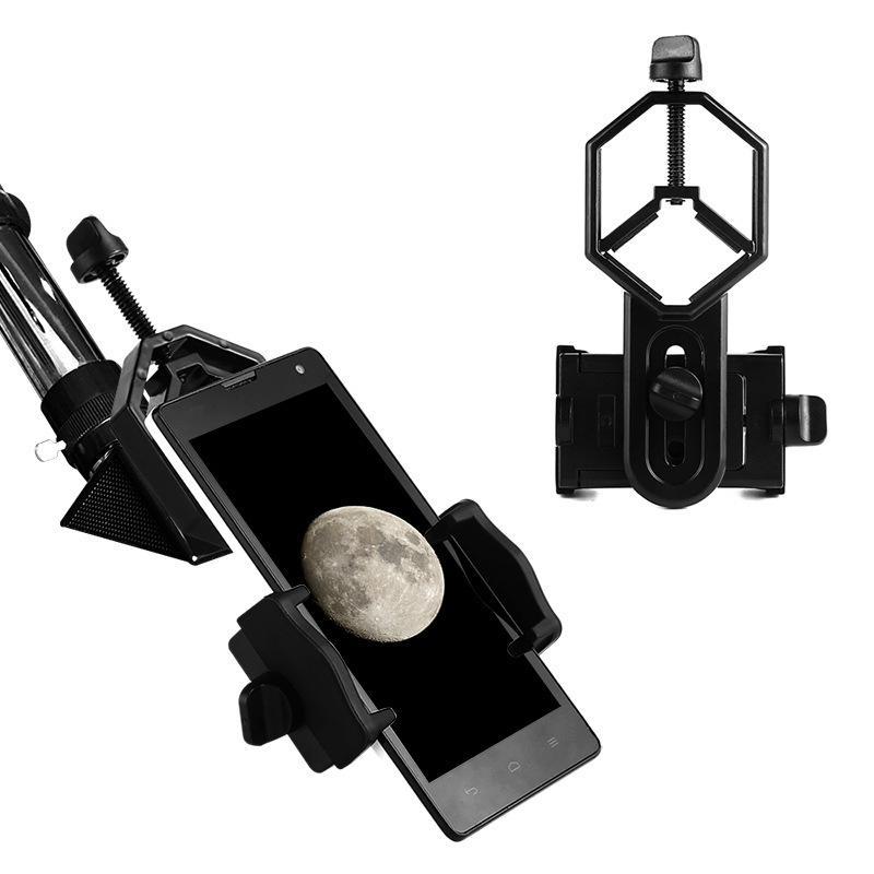 (ZD)批发望远镜通用手机夹 可连接天文单筒双筒多功能手机拍照支架