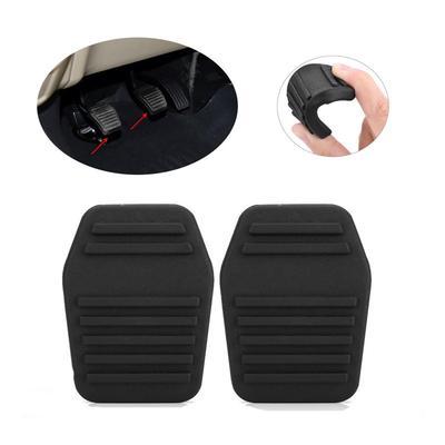 2x Clutch Brake Pedal Rubber Pad Cover Car For Ford Transit MK6 MK7 2000-2014