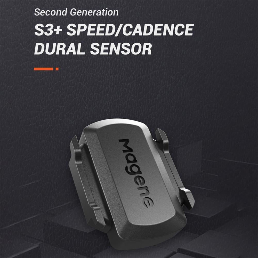Speed//Cadence Sensor for Cycling ANT+//Bluetooth 4.0 Wireless Bicycle Magene S3