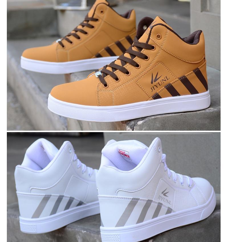 Sapatos masculinos estudante sapatos casuais masculinos sapatos desportivos sapatos de maré alta