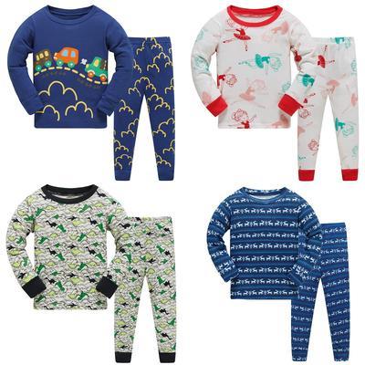 Детские пижамы детей Пижамы детские пижамы наборы мальчиков девочек  животных пижамы пижама хлопок пижамы c56d24e189807