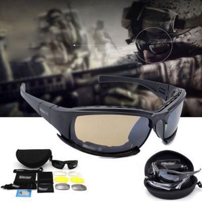 53df549015 Daisy X7 Goggles 4ls Men Military Polarized Sunglasses Bullet-proof ...