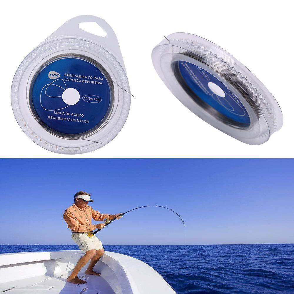 Stainless Steel Fishing Leaders Fishing Wire Strand Wire 10m Sea Fishing Tool