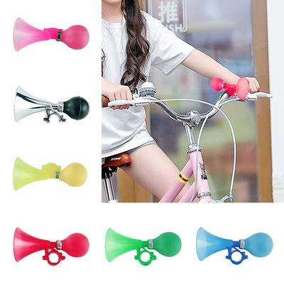 Cycling Bicycle Handler Hooter Bell Bike Air Horn Bugle Bulb Squeeze Ring Hot