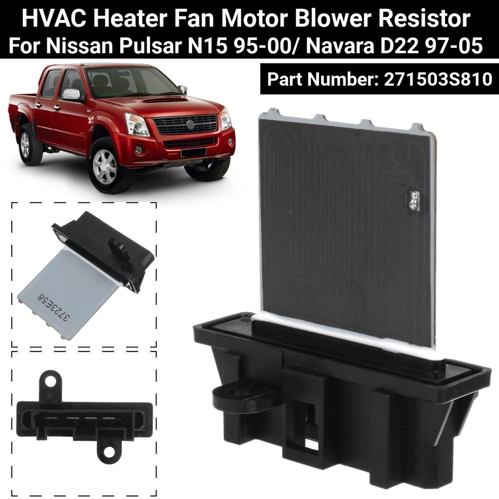 2.5 D Diesel Heater Blower Fan Resistor Fits Navara D22