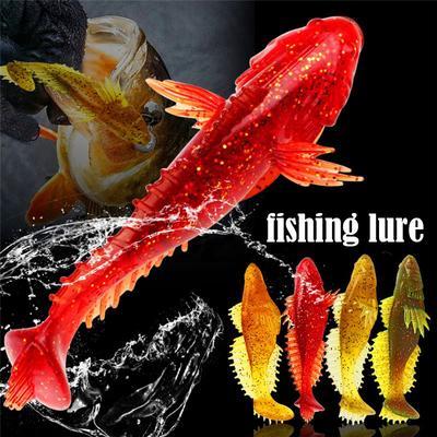 1pcs Soft Plastic Fishing Lures Bass Baits Swimbaits for