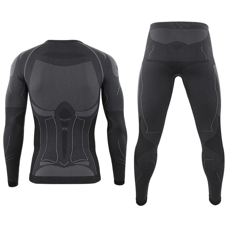 Men Thermal Underwear Long Johns Winter Warm Underwear Anti-microbial Underpants