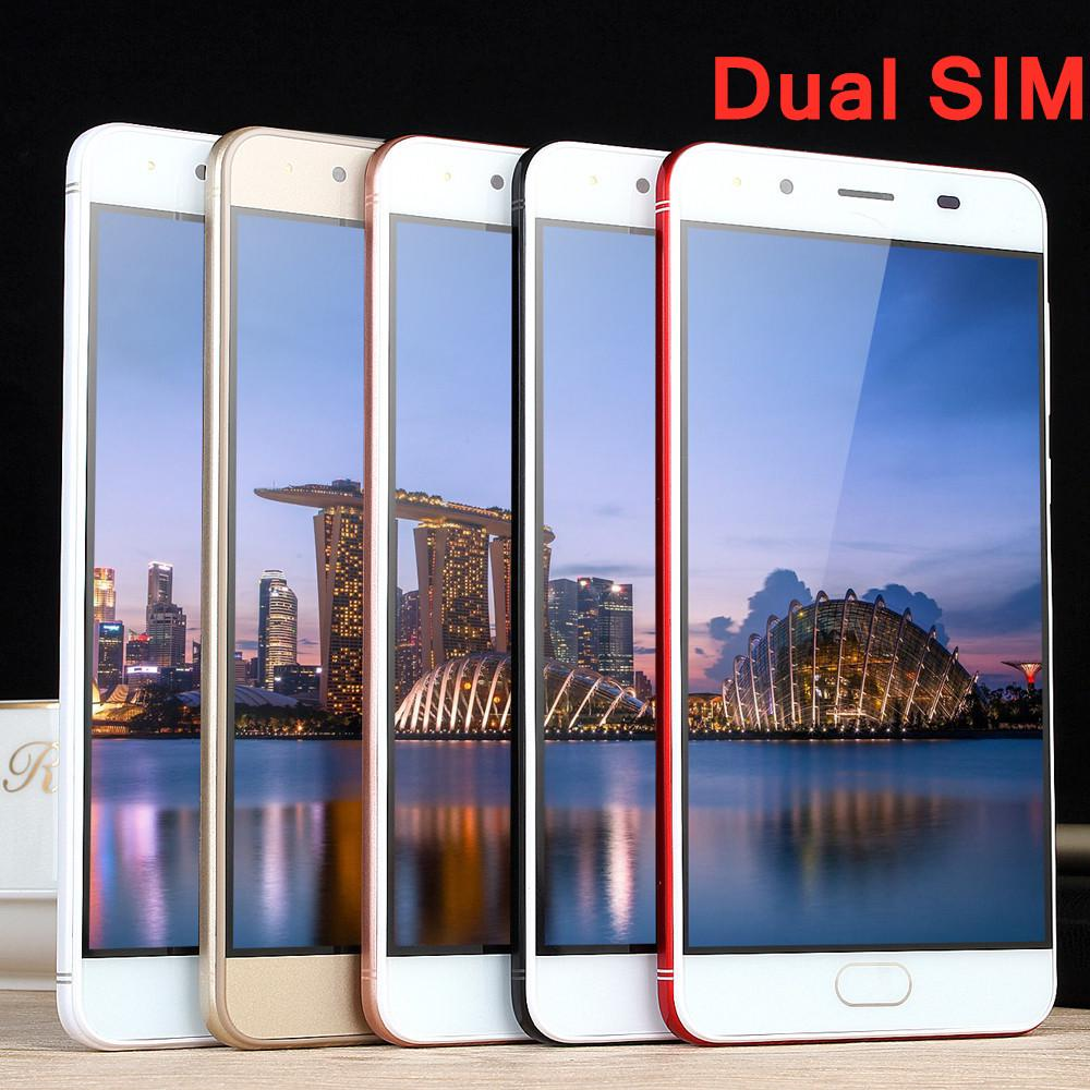 Smartphone Unlocked Cell Phones 5.0Ultrathin Android 5.1Quad-Core 512MB+512MB GSM WiFi Dual Smart Phone