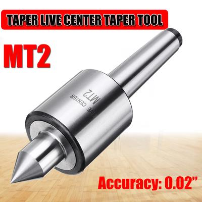 "MK2 Live Center Morse Taper Precision 0.000197/"" CNC Long Spindle Lathe Tool"