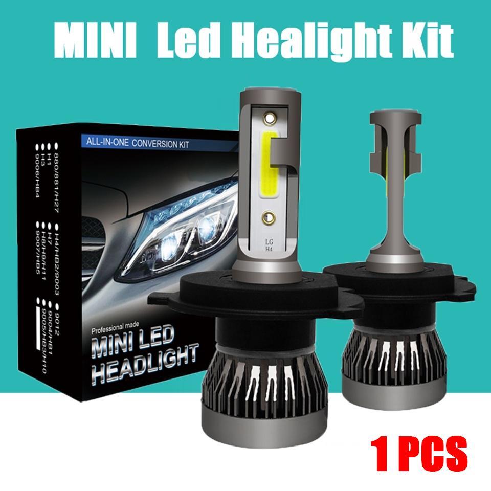 1PCS MINI1 LED автомобиль фар КОБ чип 6000 к Светодиодные лампы Мини размер супер яркий лампы туман свет фото