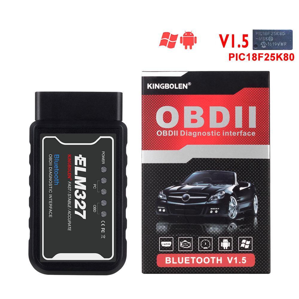ELM327 V1.5 Bluetooth OBD2 Мини Вязов 327 Bluetooth PIC18F25K80 Чип Авто Диагностический инструмент OBDII для Android Мини Авто Код Reader – купить по низким ценам в интернет-магазине Joom