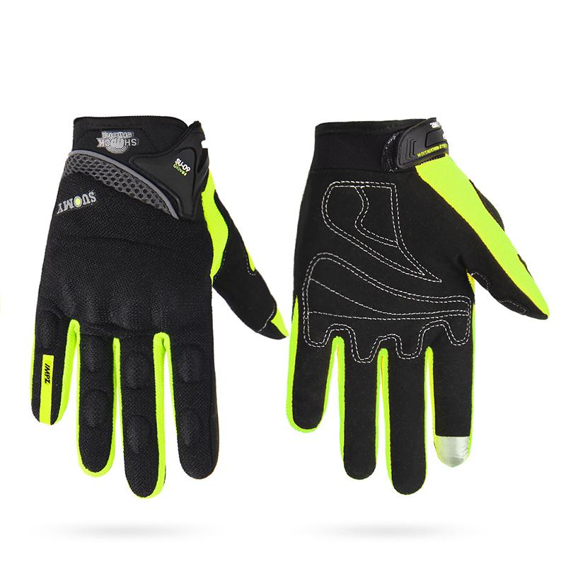 1 Pair Off-Road Full Finger Hand Gloves Outdoor Motorcycle Bike Cycling Racing